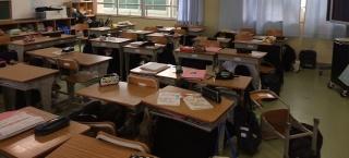 地震津波避難訓練