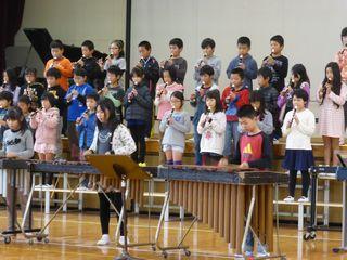 4年生が『ドレミファコンサート...