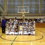 女子バスケ 秋季大会(準優勝)2