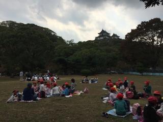 1年遠足写真和歌山城IMG_3844