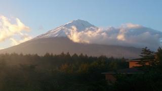 ⑱朝の富士山