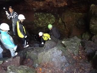 ㉔青木ヶ原洞窟樹海探検5