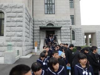 ⑩国会議事堂見学3