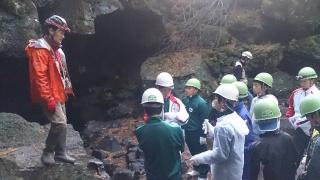 ㉓青木ヶ原洞窟樹海探検4