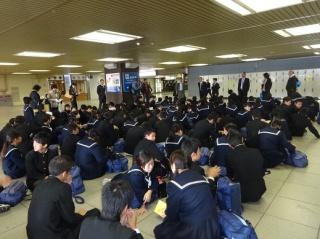 ②バスで新大阪駅へ