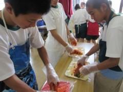 キムチ作り体験3