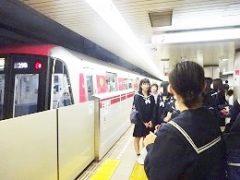 9 二日目東京メトロにて移動