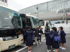1 一日目バスで国会へ