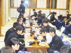 6 一日目夕食(三定)
